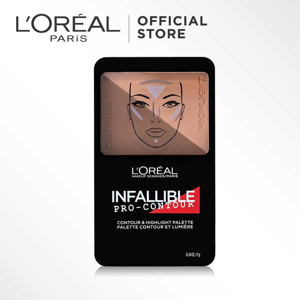 Harga L Oreal Paris Infallible Pro Contour Powder Deep Origin
