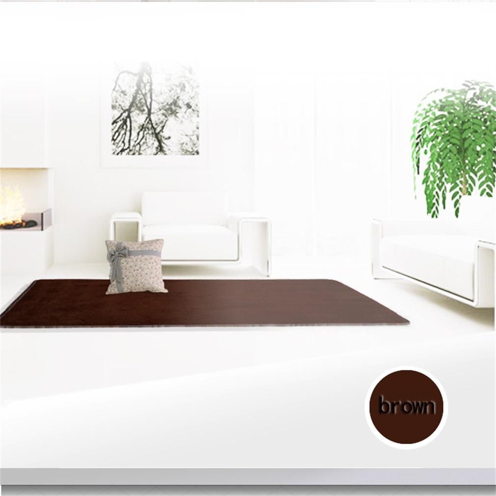 ... Allwin rumah baru ruang tamu kamar tidur karpet antislip ramus Area karpet tikar lantai warna kopi ...