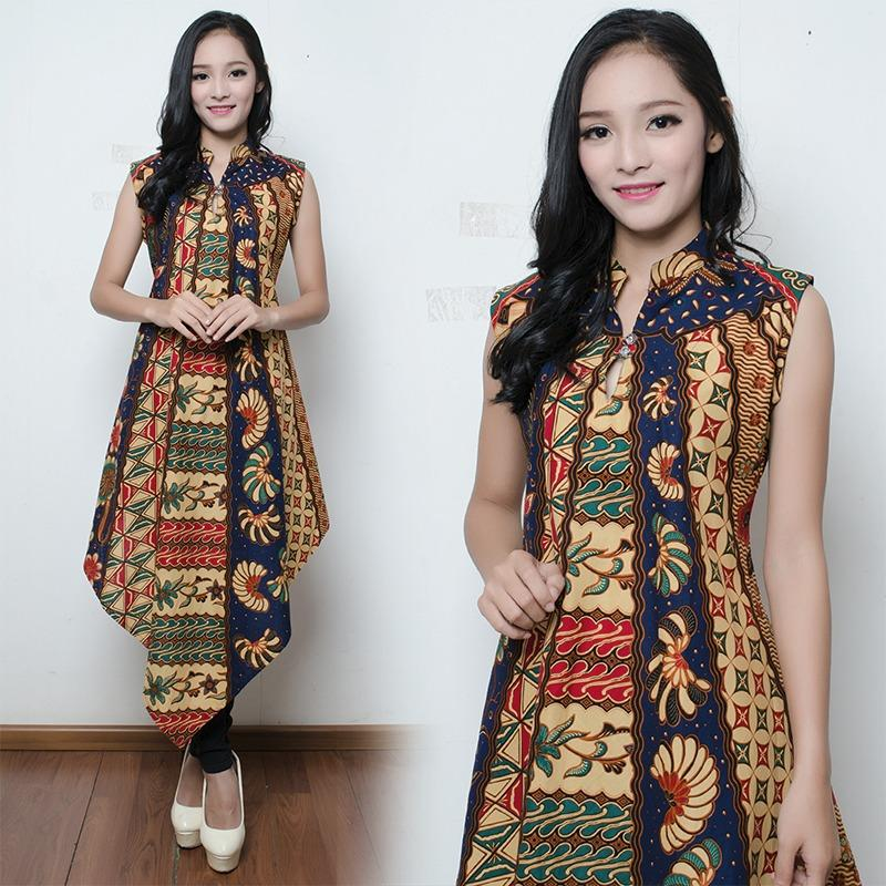 TJ Collection Dress Maxi Kylie Longdress Panjang Kaftan Batik Wanita