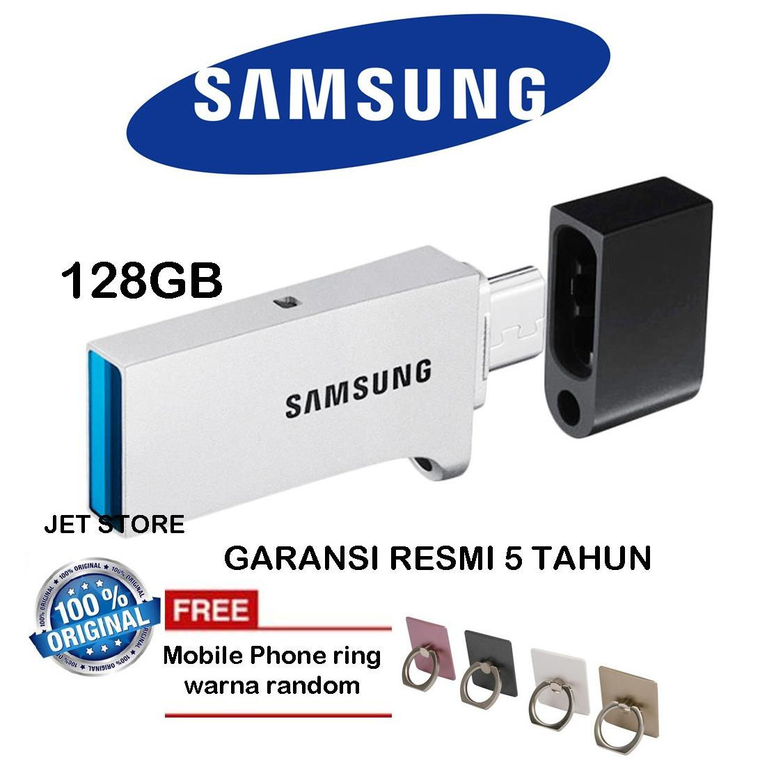Jual Samsung Flashdisk Otg Usb 3 128Gb Duo Drive Iring Mobile Phone Branded Murah