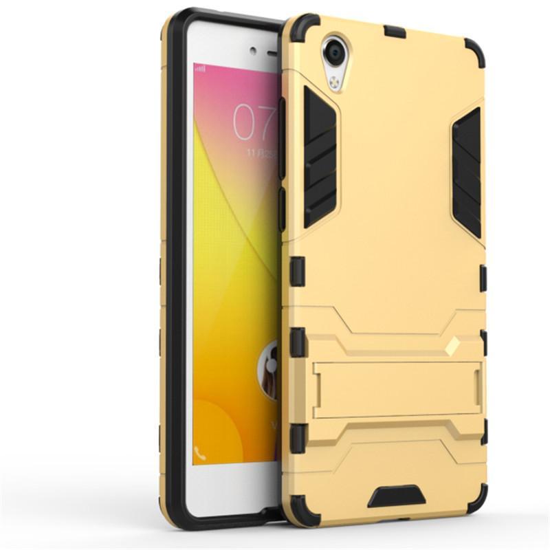 Gnmn Sarung Ponsel Y51 Hardcase Y51T/Y51L Anti Jatuh Perlindungan