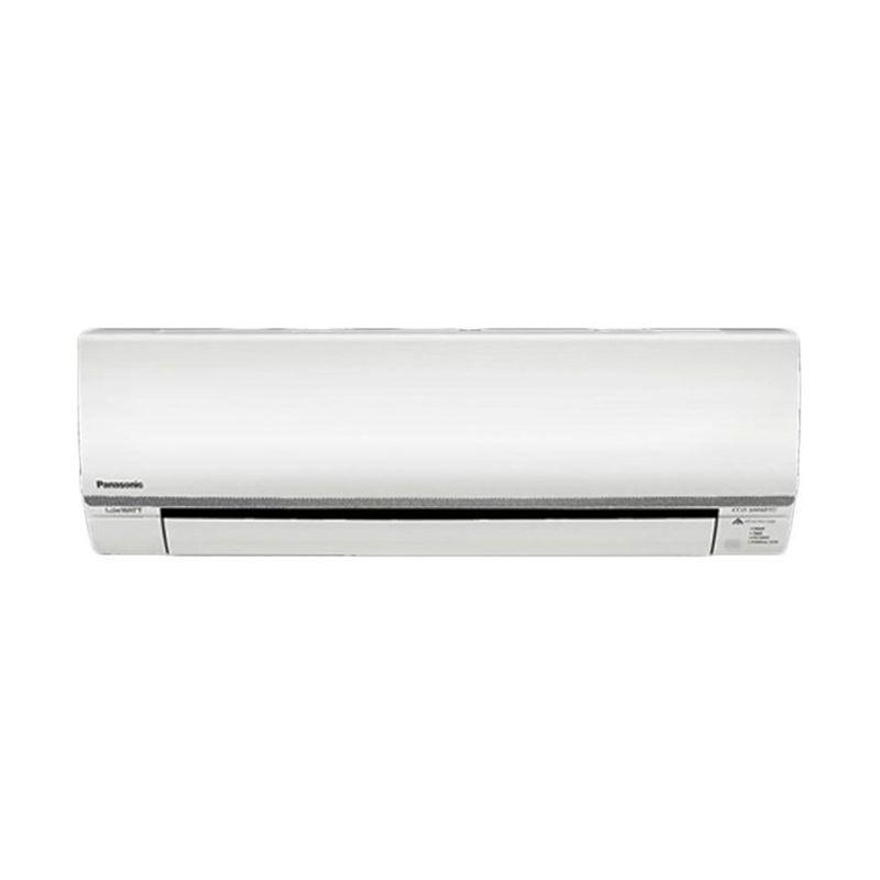 Panasonic PN5SKJ R-32 Eco Smart Putih AC Split [1/2 PK]  Termasuk Instalasi - Vacum  - Pipa Set ( Pipa+Kabel 5 M- Braket- Ductape)