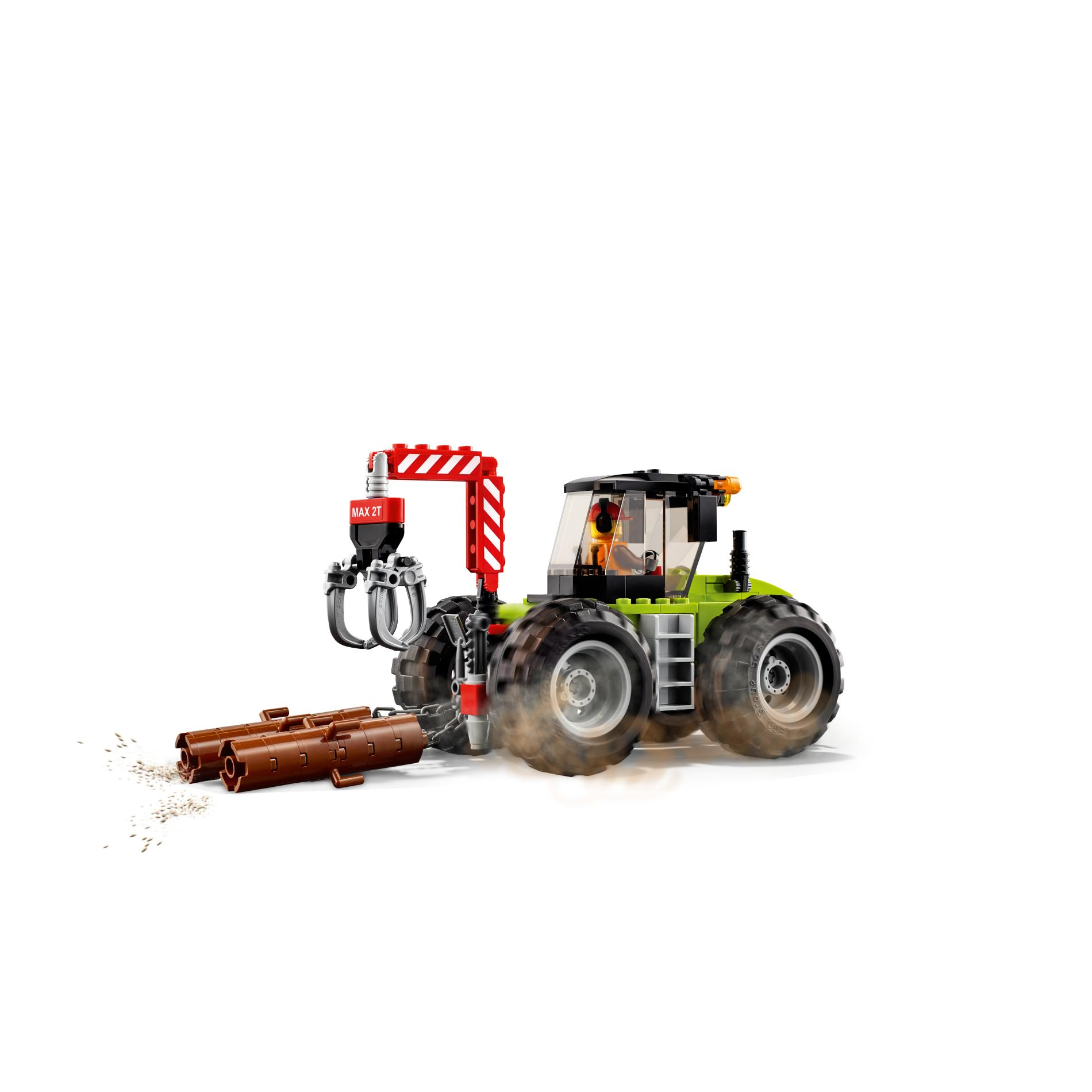 Detail Gambar LEGO(R) City Great Vehicles Forest Tractor 60181 Terbaru