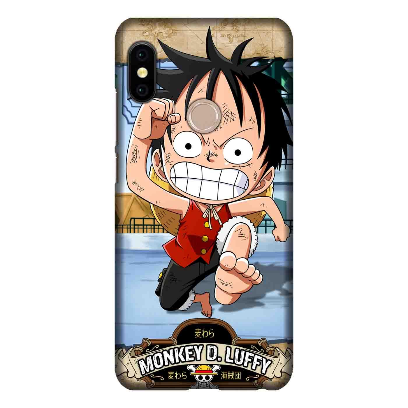 e Piece Luffy 10 Casing Custom Hardcase Full Print Case Xiaomi Redmi S2 Cover