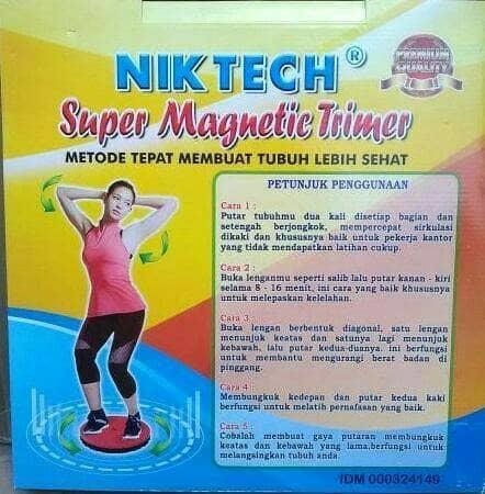 Jogging Jumbo Magnetic Trimmer Alat Pelangsing Tubuh - FbMLIu Terbaru