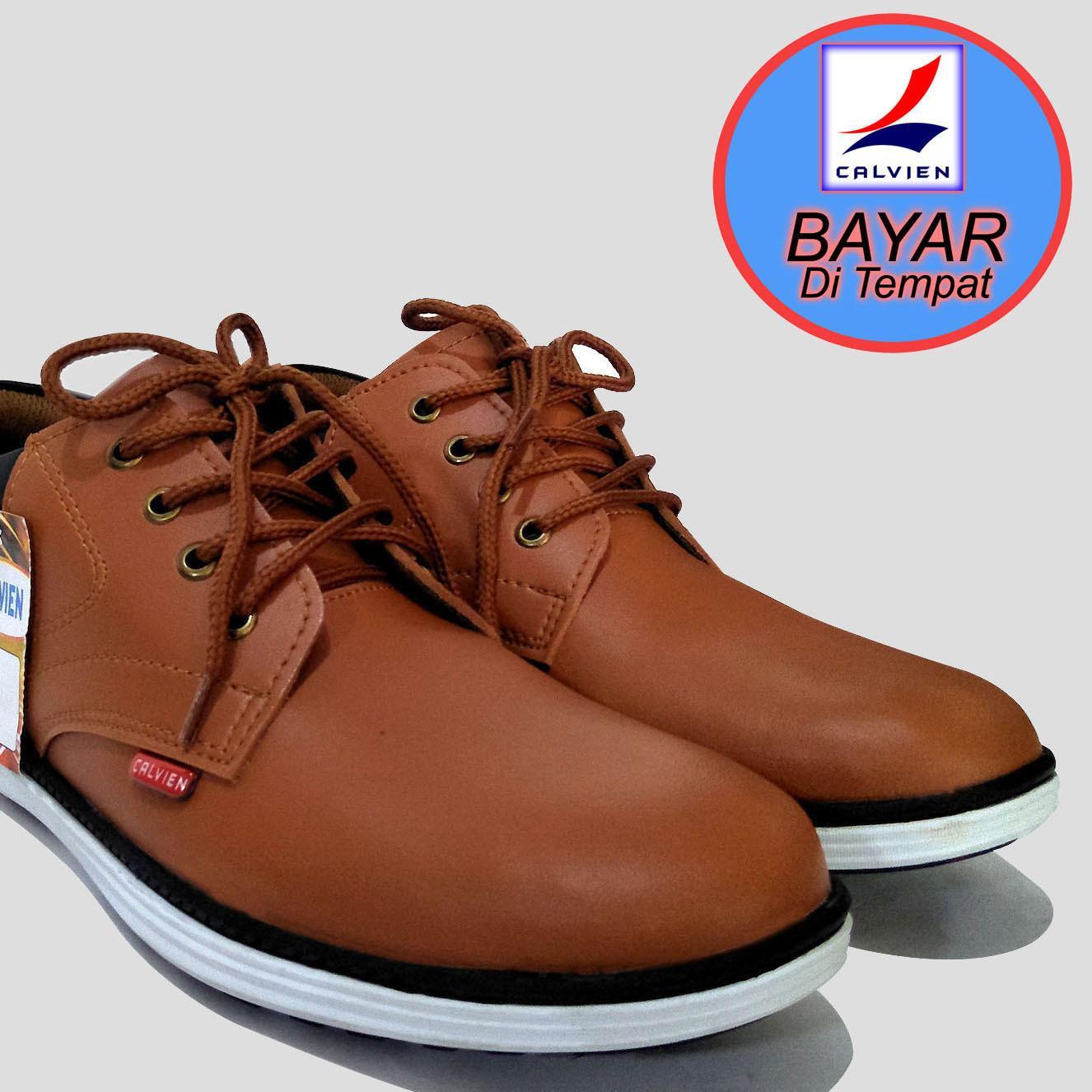 Calvien Sepatu Pria Sepatu Formal Sepatu Sneakers Sepatu Pria Kulit Sepatu Pria Murah Kode Cl 04 Calvien Diskon 40