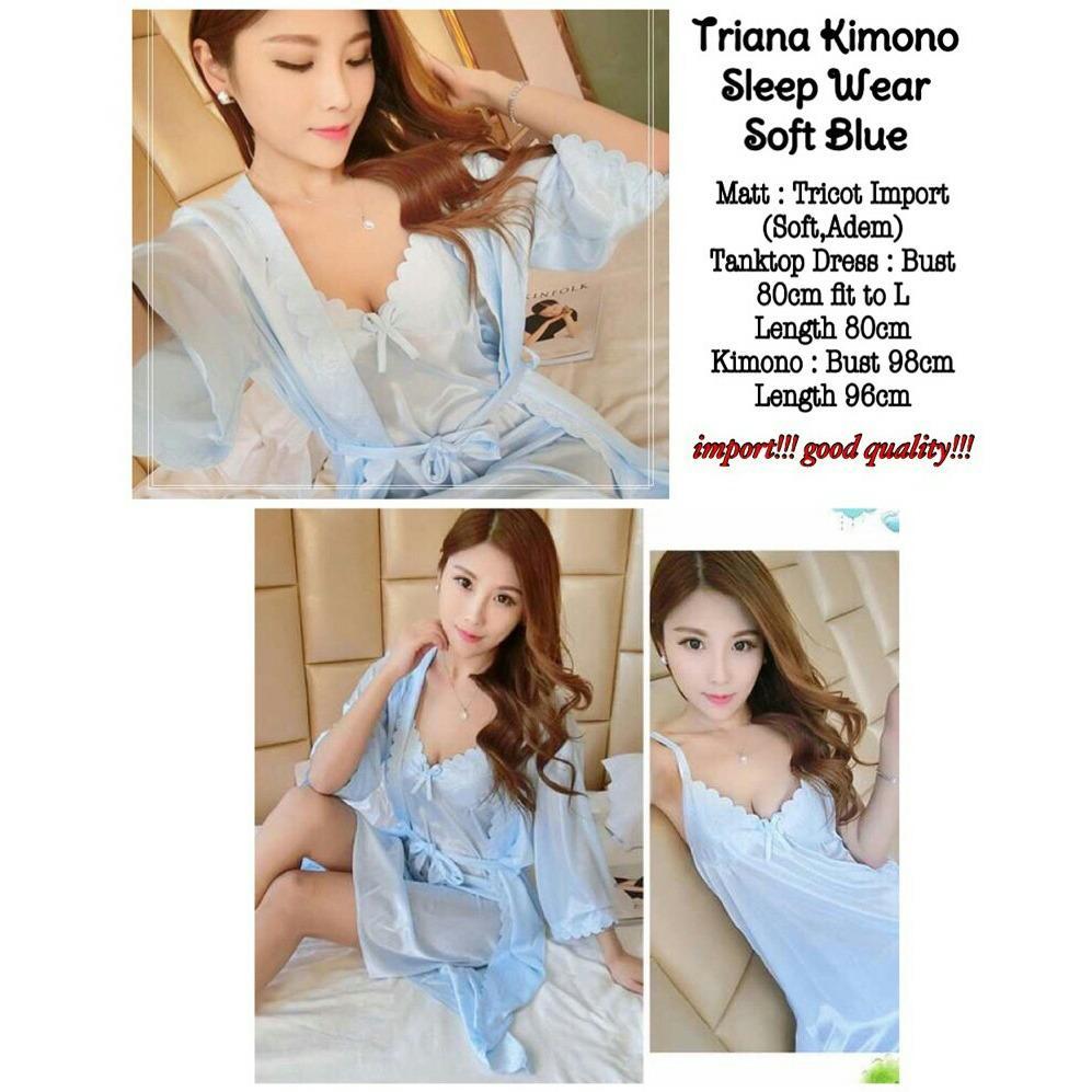 Toko Baju Tidur Wanita Fashionable Kimono Triana Pink Online