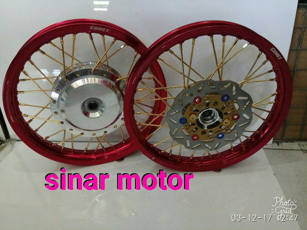 harga Sepakat Velg Ring 14 Comet Motor Beat - Vario 125 - 150 - Fi Lazada.co.id