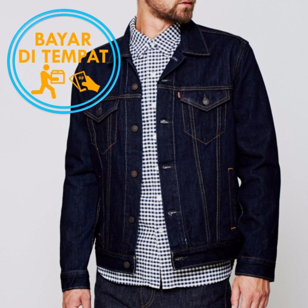 Harga Jaket Jeans Murah Navy Best Seller Murah