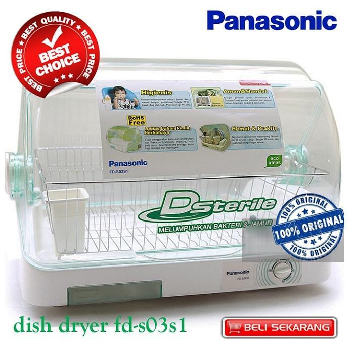 harga Panasonic Panasonic Dsterile FD-S03S1 Dish Dryer - Steril & Pengering Alat Makan - Khusus JABODETABEK Lazada.co.id
