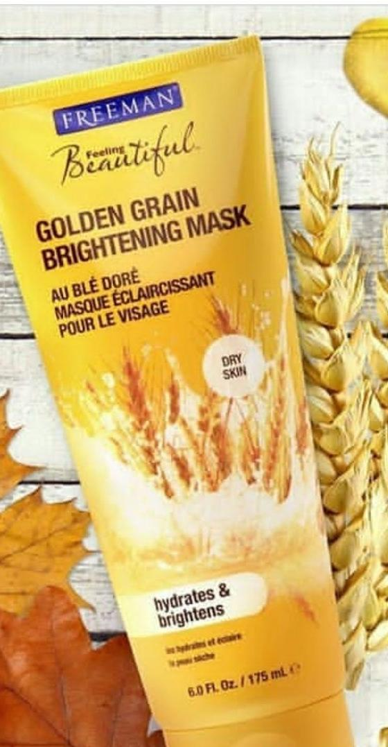 Toko Freeman Golden Grain Brightening Mask Online Terpercaya