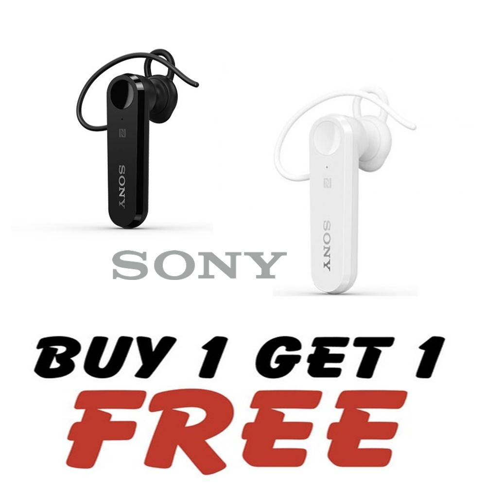 BUY 1 GET 1 Handsfree Bluetooth For SONY 4.1 BLACK / WHITE