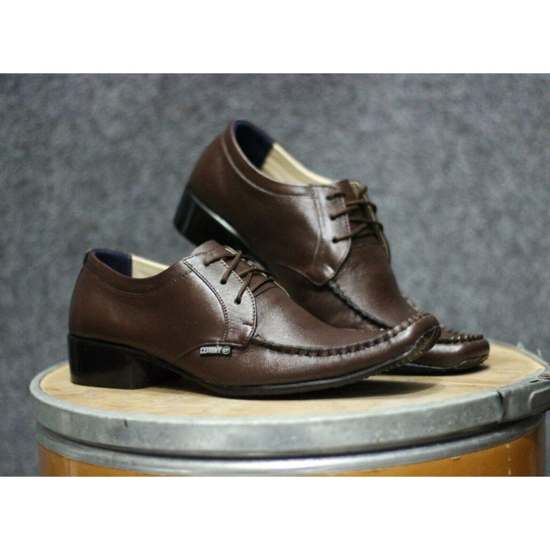 CEVANY Sepatu Pantofel Tali Pria / Sepatu Formal Pria - Sepatu Kulit Pria Pantofel Formal Kerja