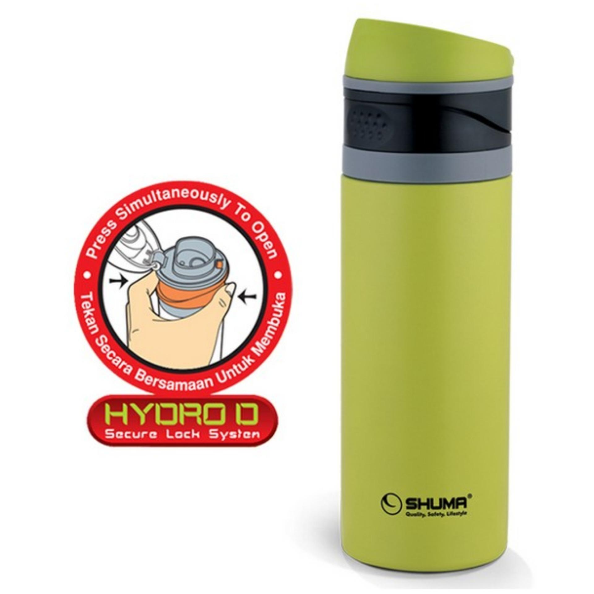 Shuma S S Vacuum Sport Bottle Hydro D 400 Ml Green Dki Jakarta