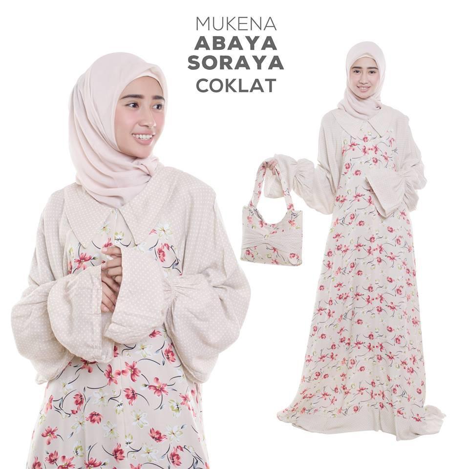 Mukena Dewasa Rayon Abaya Soraya