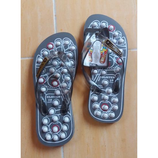 Sandal Kesehatan Sandal Terapi Glisten Swiss Rematik Ukuran 10
