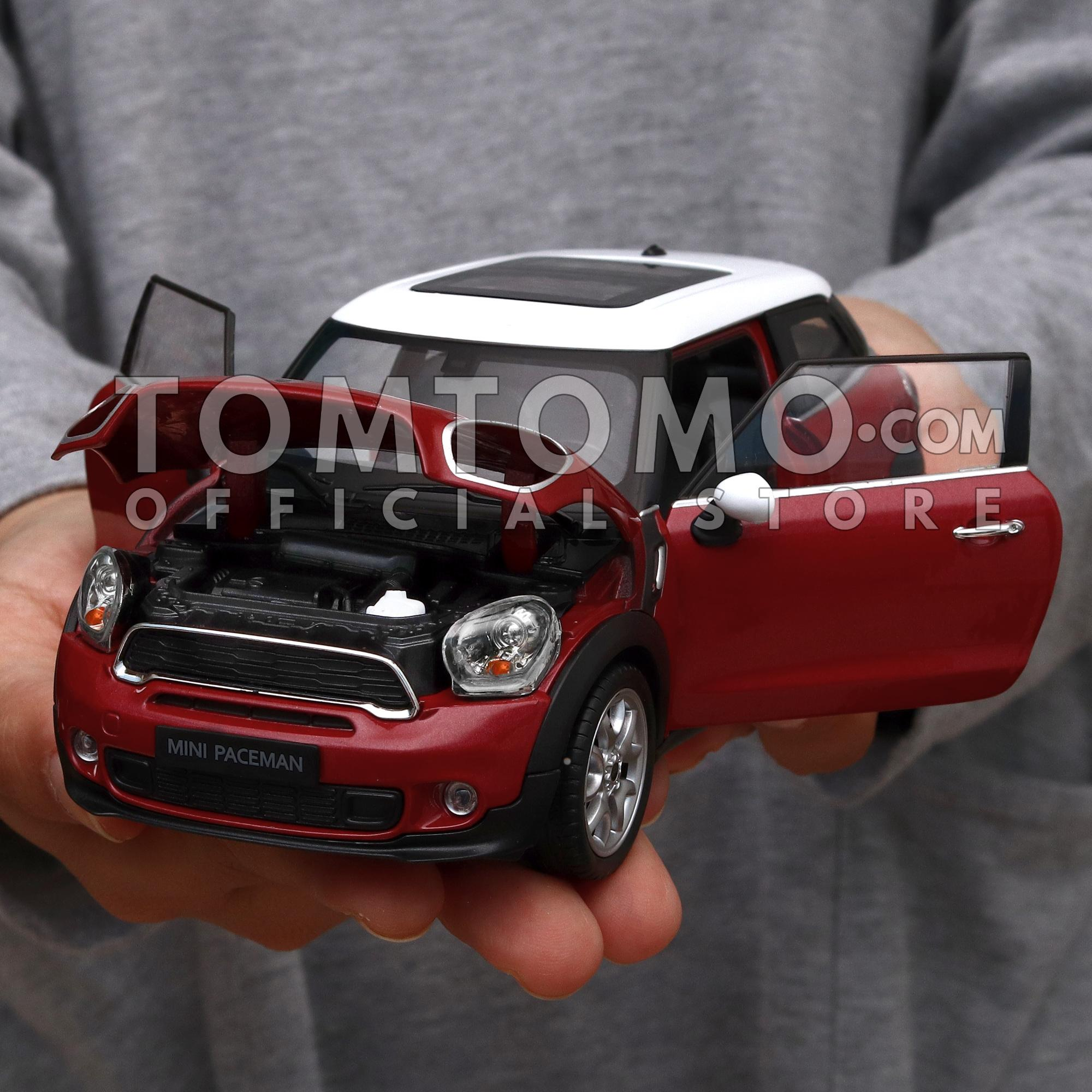 Fitur Mini Cooper P Series Tomtomo Diecast Miniatur Mobil Mobilan