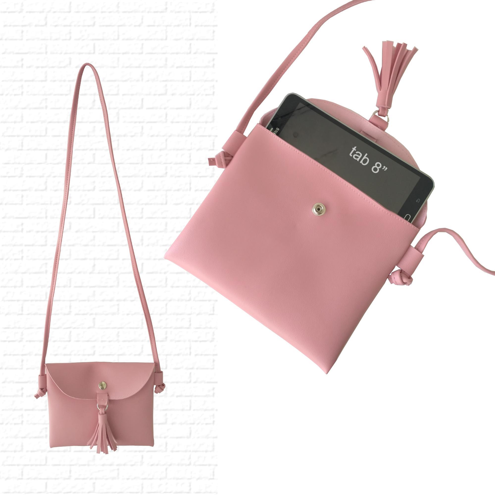 tas selempang wanita / tas wanita amplop / sling bag tab