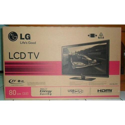 LG 32LJ500D LED TV - Hitam [32 Inch