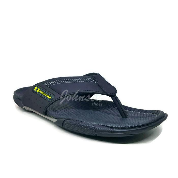 [ Johnson Shoes ] Sendal / Sandal Jepit / Japit Kulit Pria / Laki Lelaki PAKALOLO N2351 Black 100% ORIGINAL