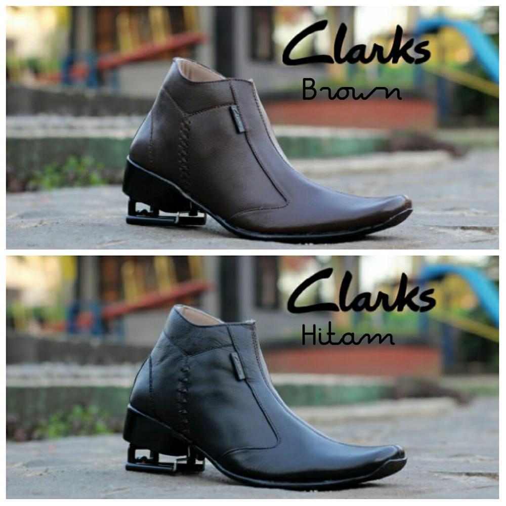 Sepatu Pantofel Pria Clark Tinggi Murah-Sepatu Formal Kerja Slop -Puma-Adidas-Nike-Vans-Kickers