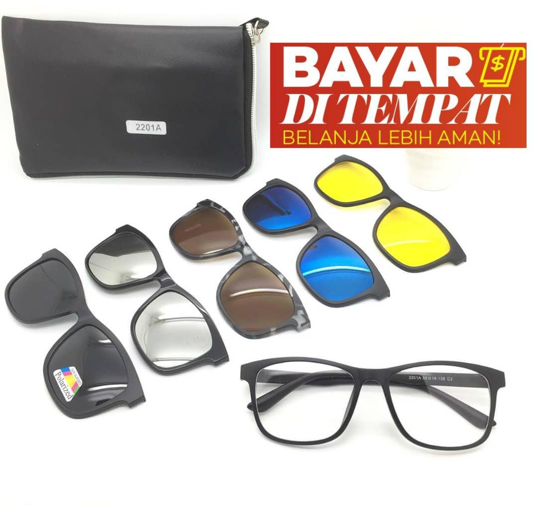 Fitur Kacamata Hologram Merk Police Army Tembus Malam Anti Silau Kuning Night View Glasses Sj0038 Magnet Sunglasses Clip On 5 Lensa Super Fullset