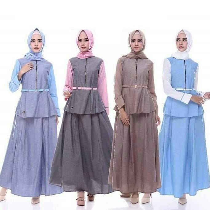Jual Baju Original Endomoda Cs 26 Setelan Wanita Baju Muslim Modern Terbaru Cassanova Murah Jawa Barat