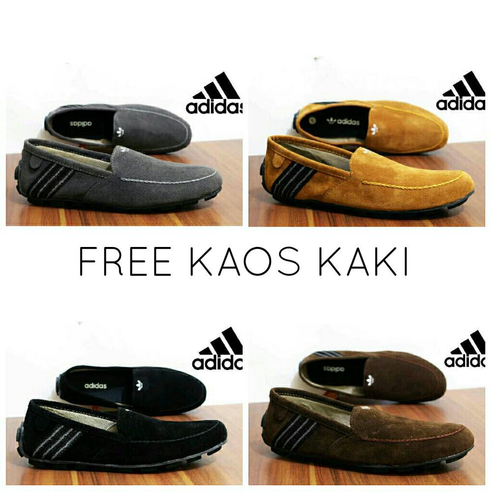 Sepatu Casual Slip On Slop Adidas -Sepatu Casual Pria Slip On -Vans-Nike-Promo-Crocodile-Adidas-Puma 3