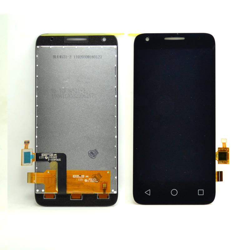 LCD Display+Touch Screen DigitizerFor Alcatel One Touch Pixi 3 4.5 OT4027D 4027D LCD+TPBlack(free+3m Tape+Opening Repair Tools+glue)