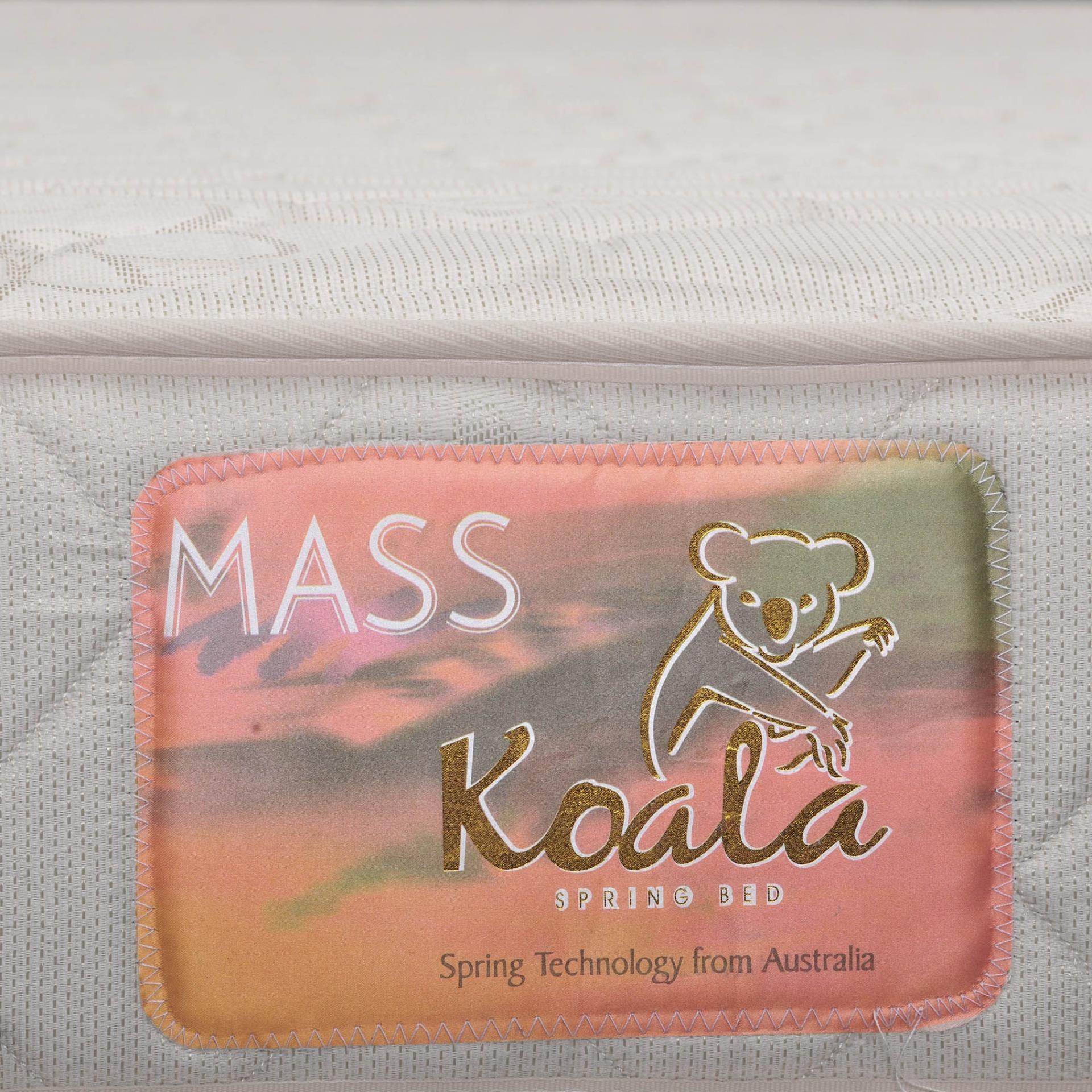 Detail Gambar Resta Koala Mass Springbed Putih Tebal 22 Cm Divan Kent Size 90 x 200 HB Victoria - Fullset - Khusus Jabodetabek Terbaru