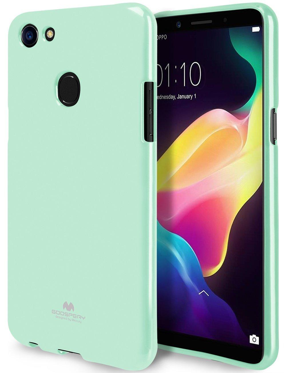 Fitur Mercury Jelly Soft Case For Apple Iphone X Transparent Dan Goospery Feeling Mint Oppo F5