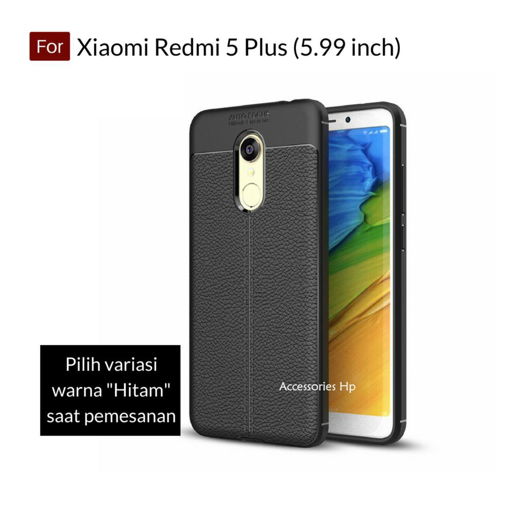 Accessories Hp Premium Ultimate Shockproof Leather Case For Xiaomi Redmi 5 Plus Layar 5.99 inch -