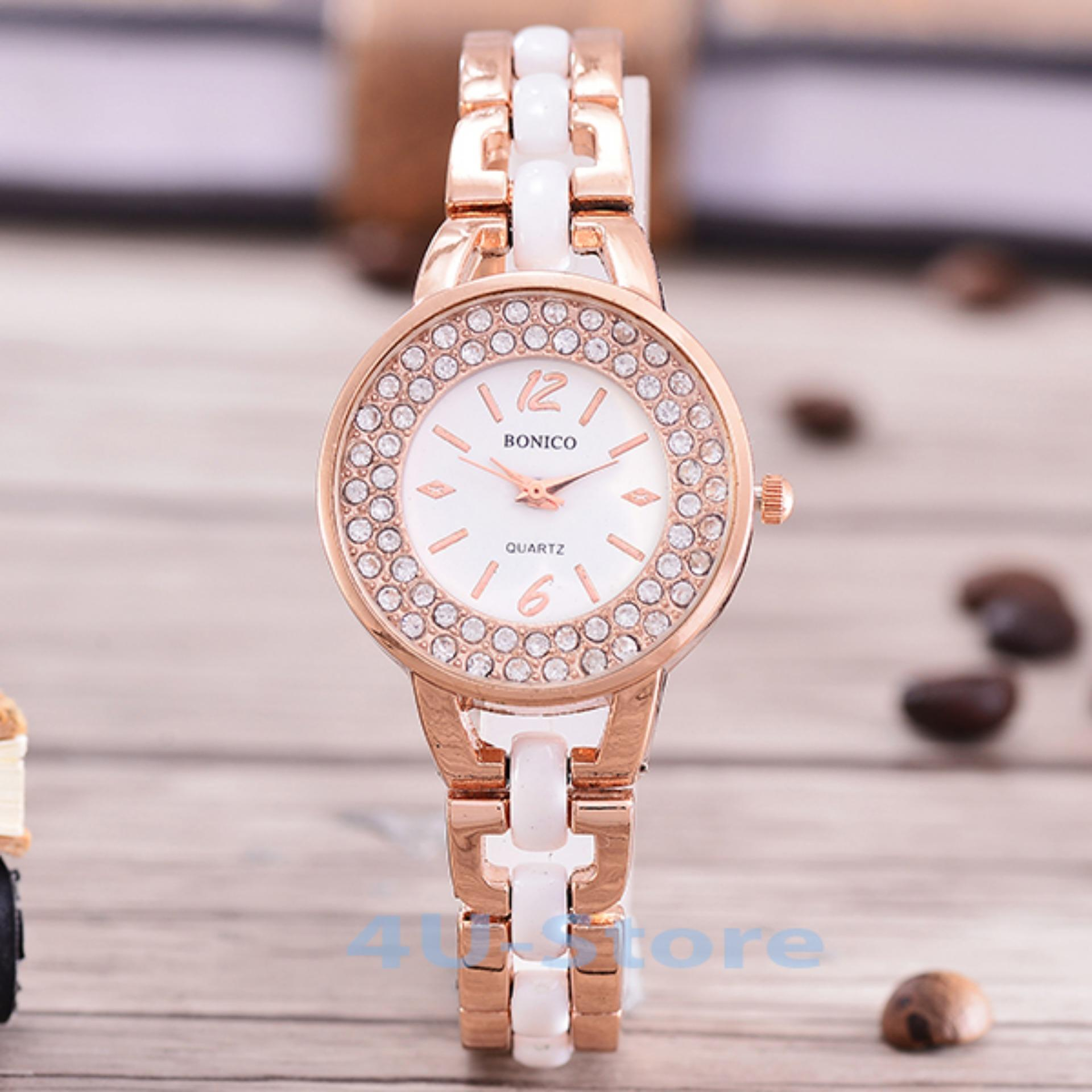 Bonico Jam Tangan Wanita Bnc 2955 Leather Strap Daftar Harga Update Indonesia Fashion 81952 Imatation Ceramic