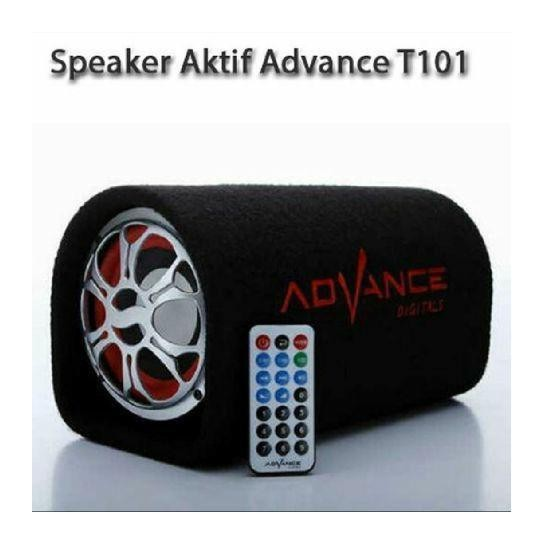 SPEAKER BLUETOOTH ADVANCE  T101BT / AUDIO KARAOKE AKTIF