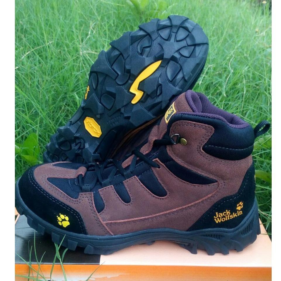 harga Sepatu gunung outdoor waterproof tracking hikking JACK WOLFSKIN Lazada.co.id