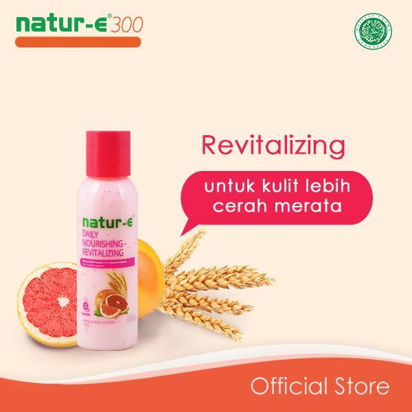Natur-e 300 IU Revitalizing Hand Body Lotion 100 ml