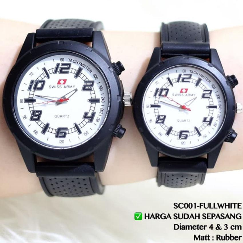 Swiss Time/Army - SA779 Jam Tangan Couple