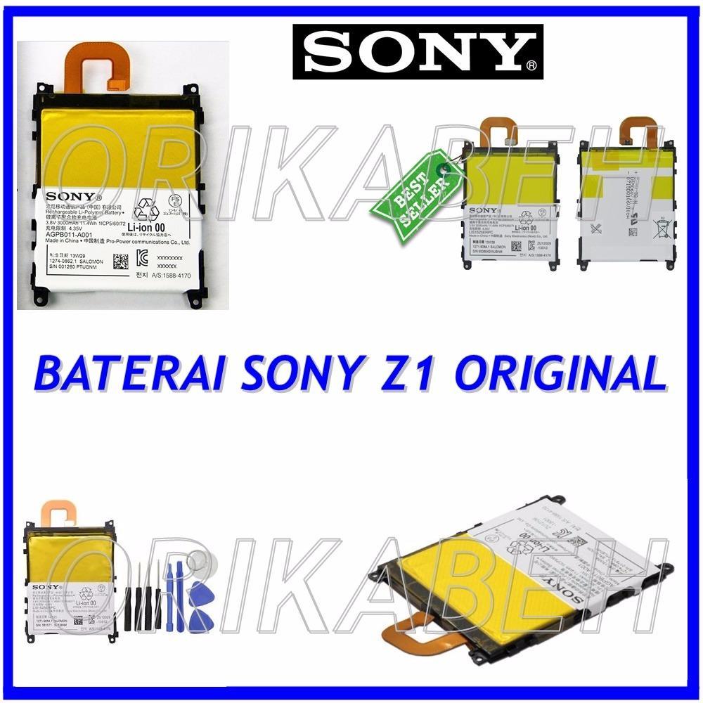 Sony Baterai / Battery L39H For Sony Xperia Z1 Original - Kapasitas 3000mAh ( orikabeh )