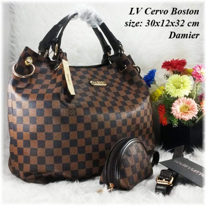 Best Seller Ready Stock !!!!  LV Cervo Boston