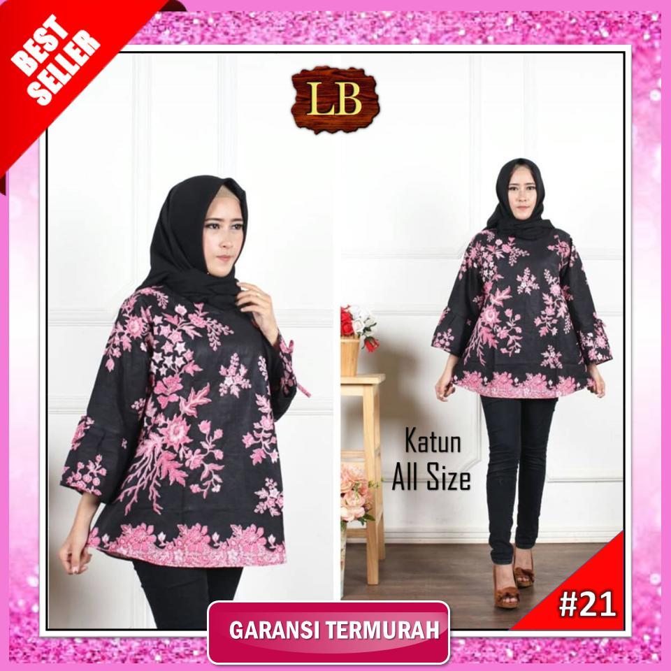 Blouse Batik Wanita Blous Batik Wanita BlouseAtasan Batik Wanita 2018 Blus  Batik Blus Wanita Blus Batik 515dbc8302