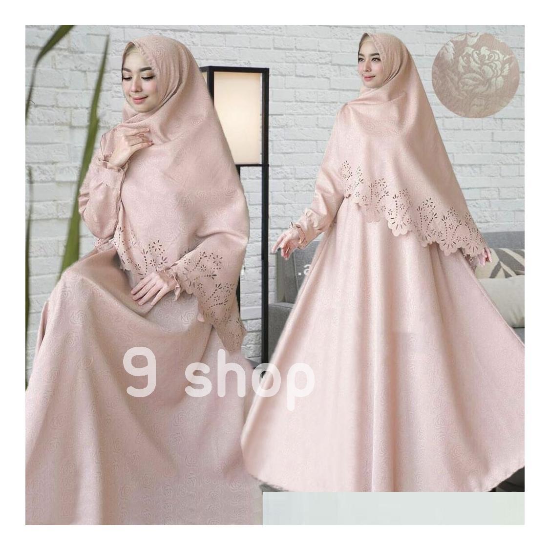 Cek Harga Baru 9 Shop Baju Gamis Syari Dress Maxi Muslim Wanita