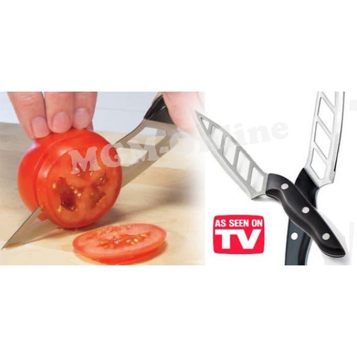 ASLI Pisau Dapur Tajam Aero knife( Tanpa perlu di asah) - 6fUeFM