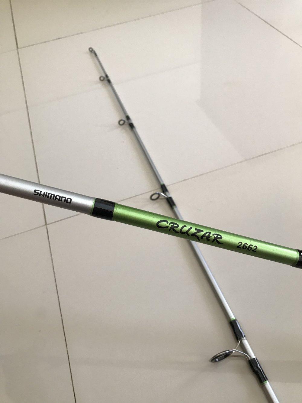 Joran Shimano Cruzar 662 198 Cm TERBARU BOS PANCING Zerya Fishing