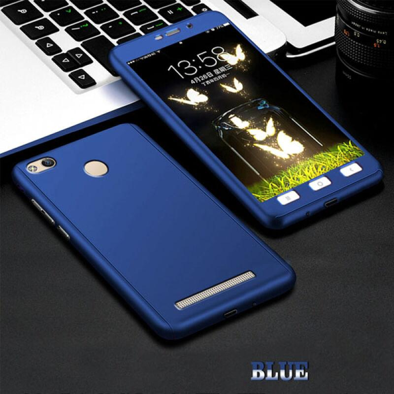 Hardcase Case 360 Xiaomi Redmi 3 / 3S / 3Pro Full Body Cover + Free Tempered