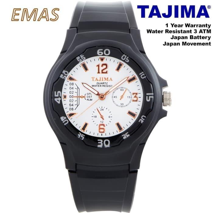 ... BEST SELLER JAM TANGAN TAJIMA ANALOG 3132 GARANSI 1 TAHUN - Orange - xxUUcWlA - 3 ...