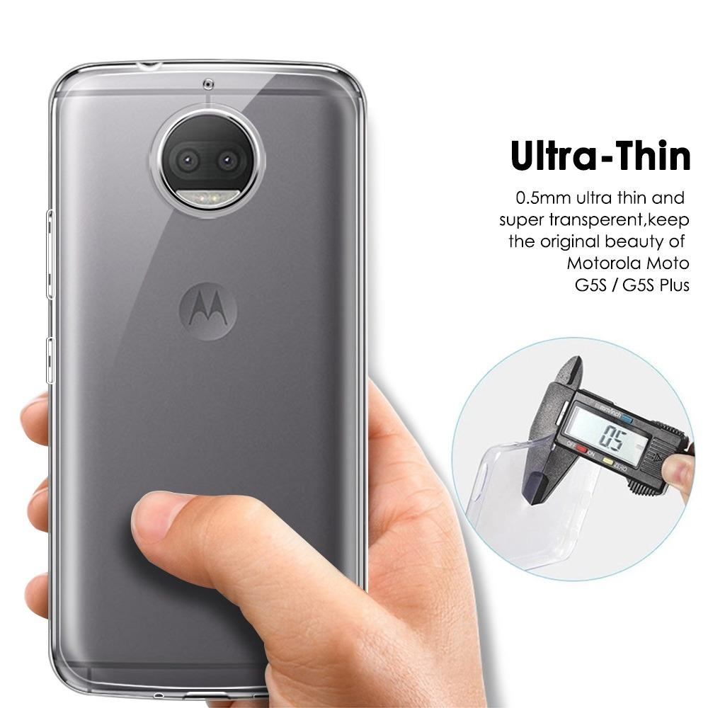 Cek Harga Baru Motorola Moto G5s Plus Softcase Jelly Tpu Ultra Thin Tempered Glass Full Cover Black Dan Gold Gambar Produk Rinci Clear Terkini