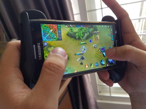 Bundling Mobile Game Set - Gamepad + R1L1 / Game Pad Mobile Legend / Moba ...