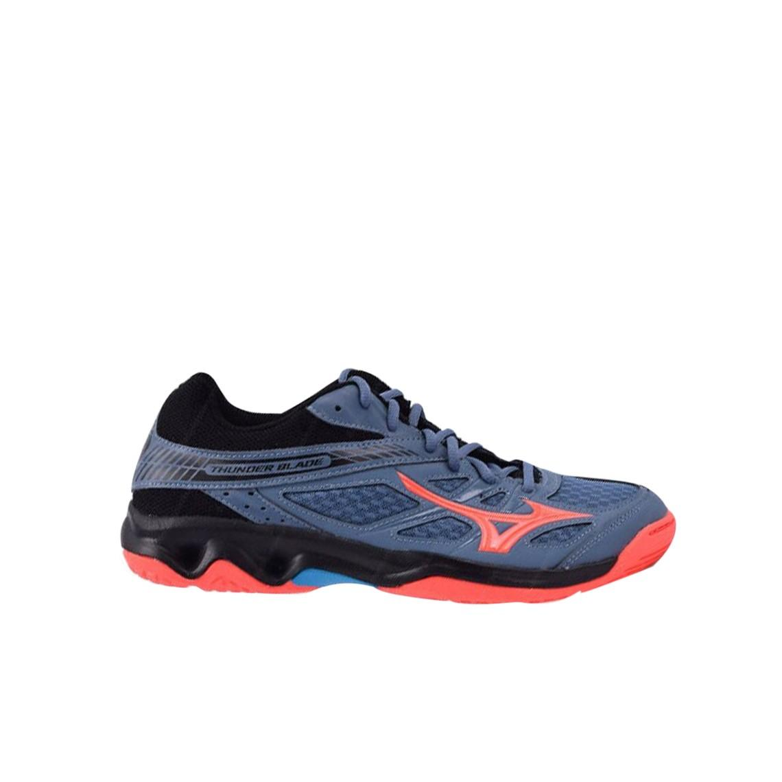Kelebihan Sepatu Futsal Mizuno Original Basara 103 Sala Black Fiery Classic 2 In Yellow Voli V1ga177065 Thunder Blade Blue Mirage Coral
