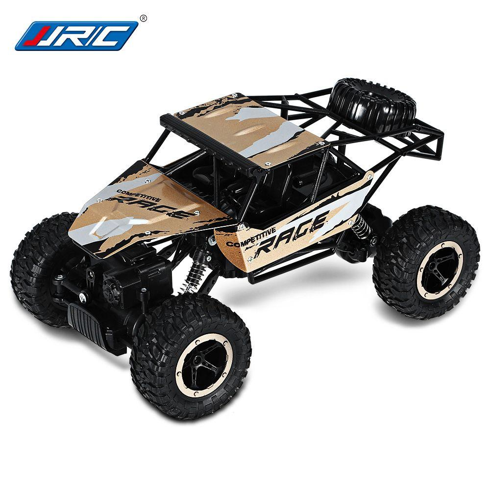 Remote Control JJRC Q15 2.4G 4CH 4WD Rock Crawlers Driving Car 1:14 - Gold