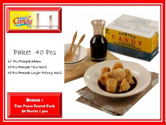 pempek candy paket new spirit xx jkt  (40 pcs)